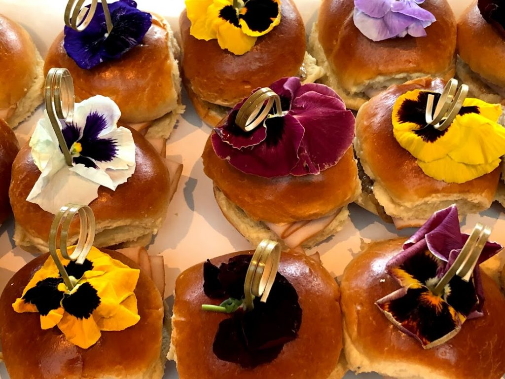 Island Flavors and Tings Gulfport Fl Catering Menu Floral Sliders