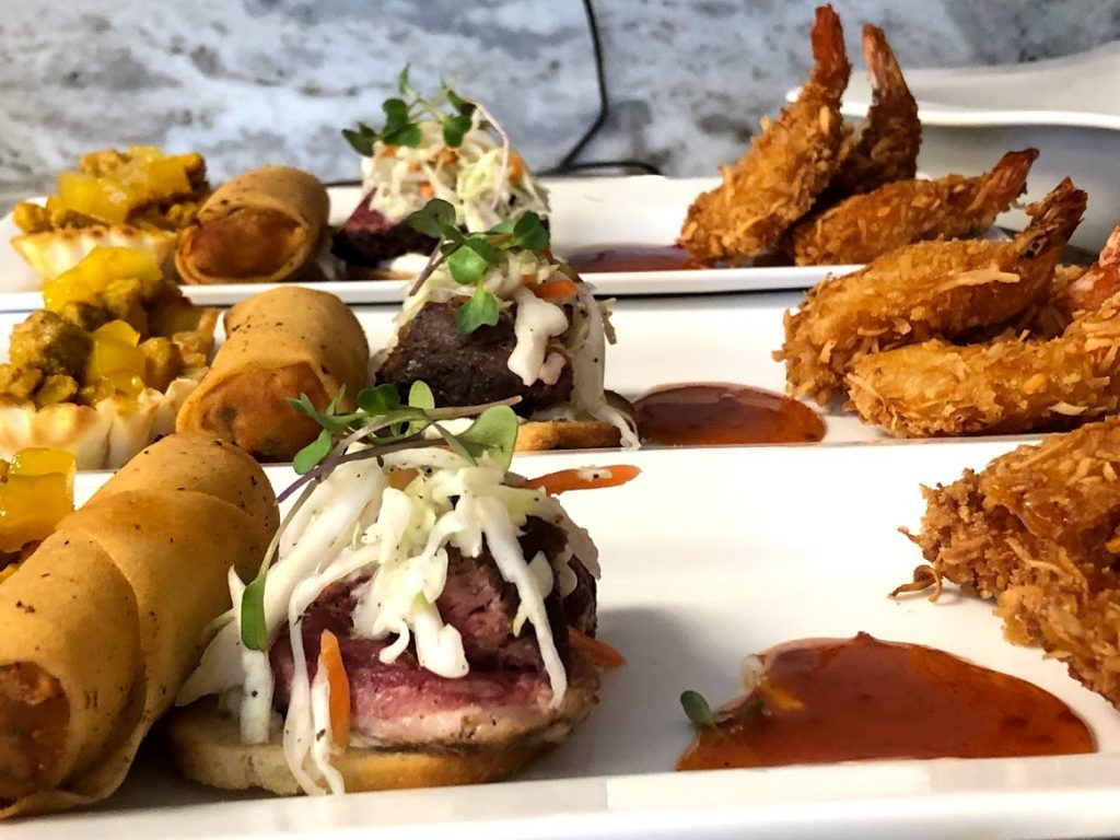 Island Flavors and Tings Gulfport Fl Catering Menu Appetizers Seafood Beef Egg Rolls